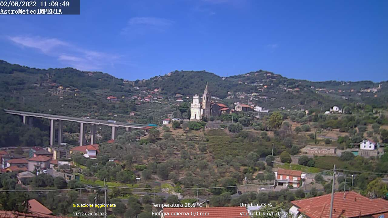 Webcam Imperia - Astro Meteo Imperia